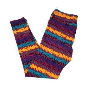 3/$25 LulaRoe Multi Color Tall & Curvy Legging